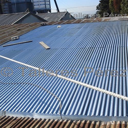 Enlaminado de techos - Talleres Pérez