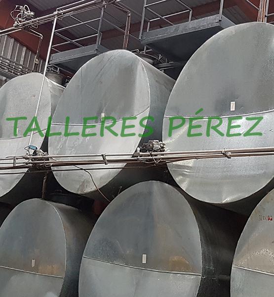 Aislamiento Térmico de Tuberías - Talleres Pérez